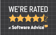 Software Advice average rating