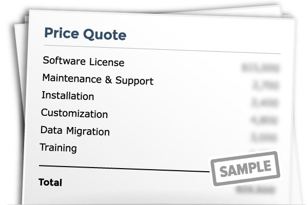 Price Quote Sample