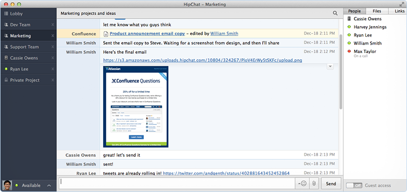 Case Study | Atlassian's HipChat Improves Collaboration at