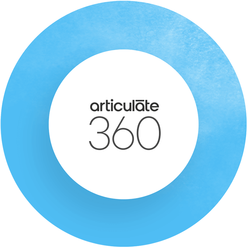 Logotipo do Articulate 360