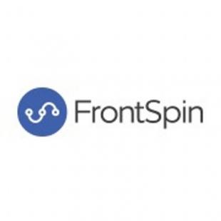 Logotipo de FrontSpin Sales Dialer