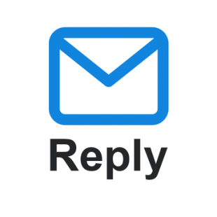 Logotipo de Reply