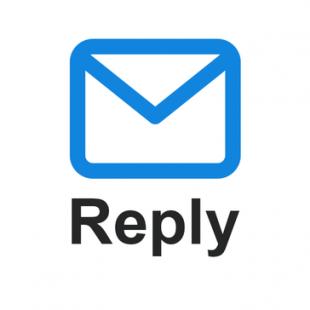 Logotipo do Reply