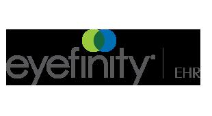 Logotipo de Eyefinity EHR