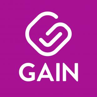Logotipo de GAIN