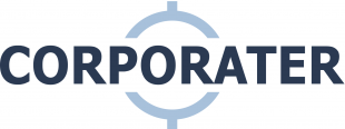 Logotipo de Corporater