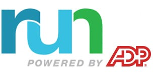 RUN Powered by ADP Logo