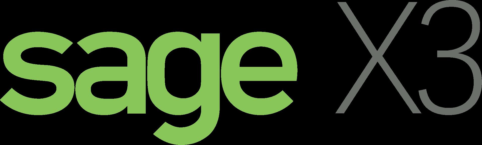 Logotipo de Sage X3