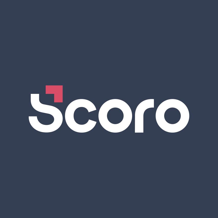 Logotipo de Scoro