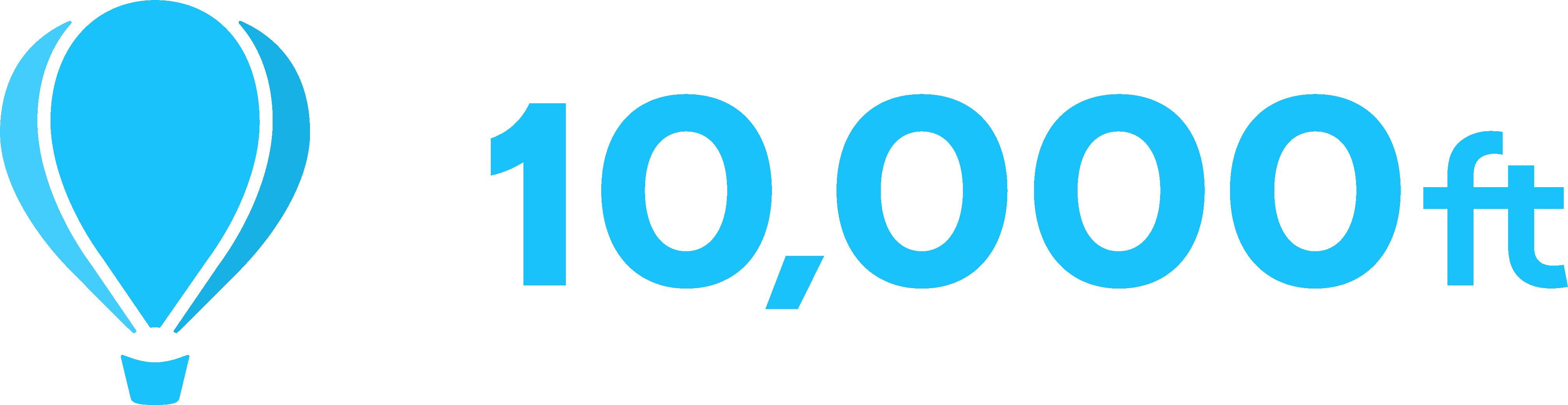10,000ft Logo