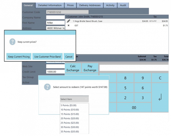 MyPOS Connect customer relationship management features