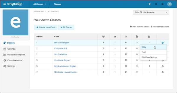 Active classes