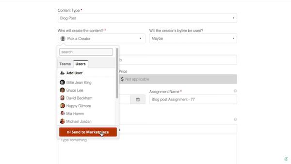 ClearVoice content type screenshot