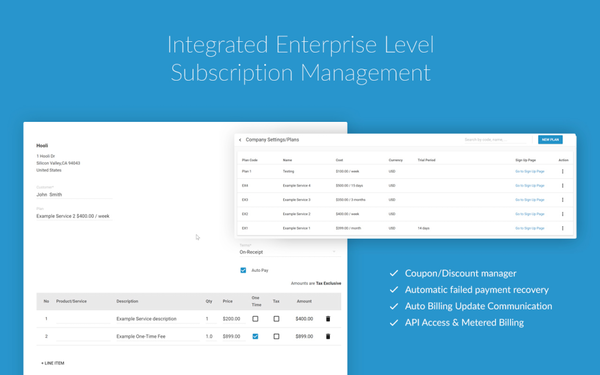 Subscriptions Management