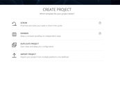 Create projects