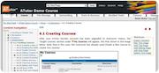 ATutor course creation