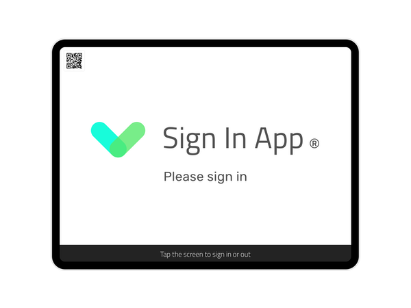 Sign In App Home Page