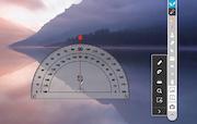 IPEVO Annotator protractor tool