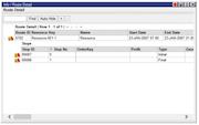 Descartes Route Planner On-demand route detail screenshot