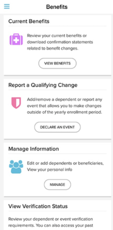 ADP Mobile Solutions benefits screenshot