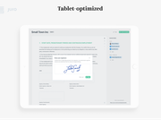 Optimized for Tablet