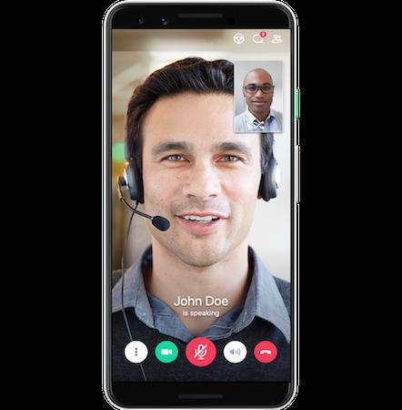 GoToMeeting mobile app screenshot