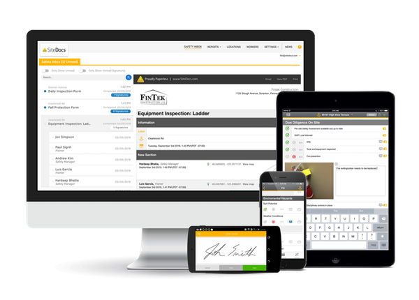 SiteDocs Safety Software