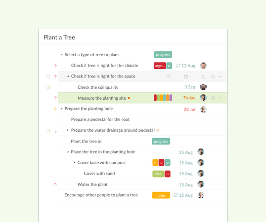 Quire task management