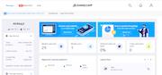 Swing2App information dashboard