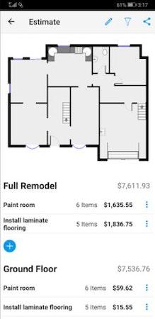 magicplan cost estimates