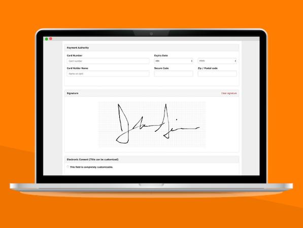 Clubworx member sign-up screenshot
