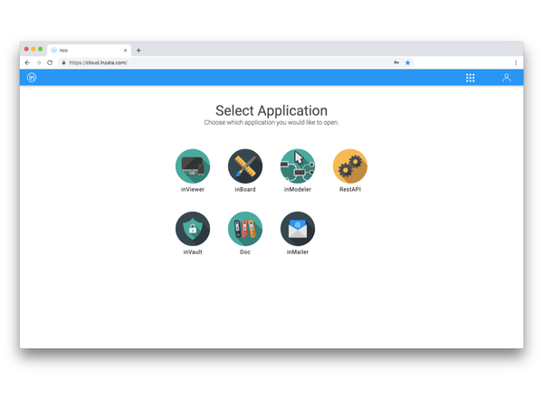 Inzata select application