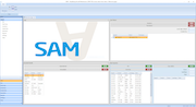 SAM Aviation Maintenance Software welcome page screenshot