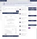 Quorum advocacy bill summary screenshot