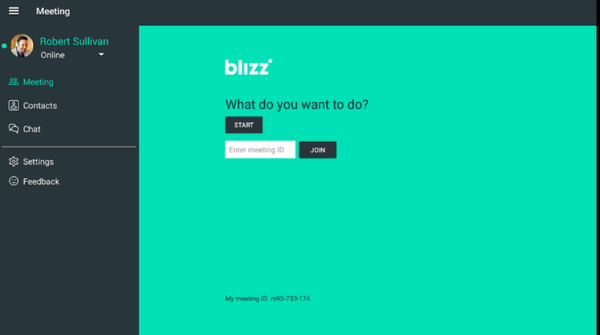 Blizz login screenshot