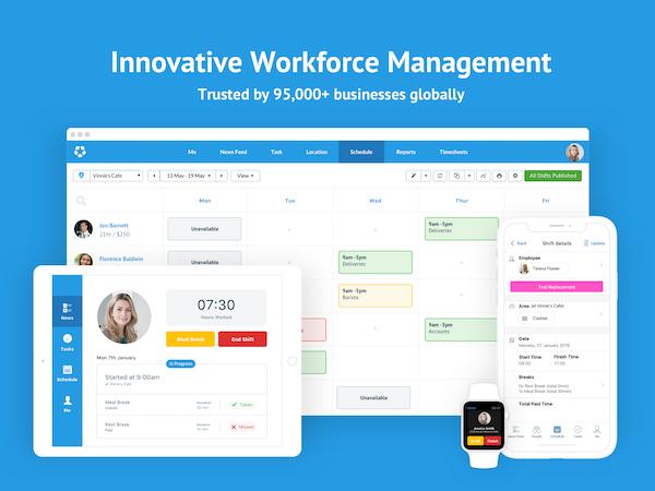 Deputy workforce management screenshot
