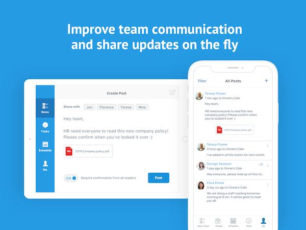 Deputy team communication