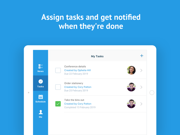 Deputy task assignments