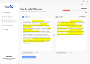 Plagiarism Checker X side-by-side comparison