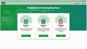 Dancing Numbers dashboard