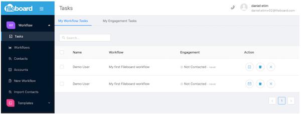 20Miles workflow tasks