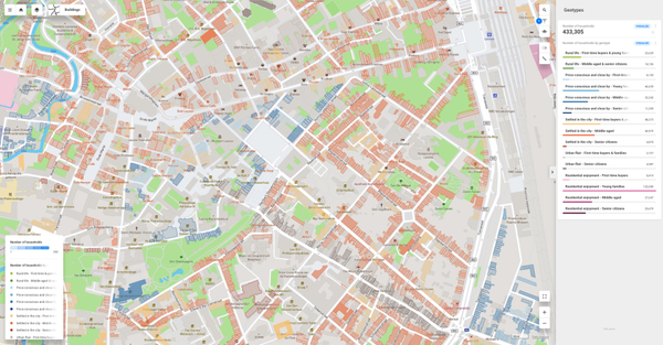 CleverMaps geotypes