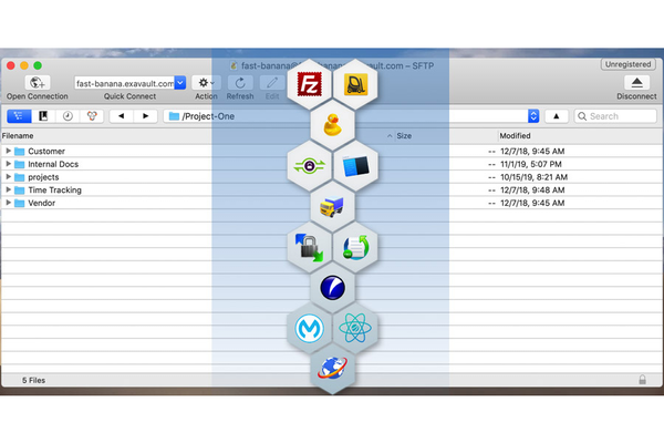 ExaVault personalized profile