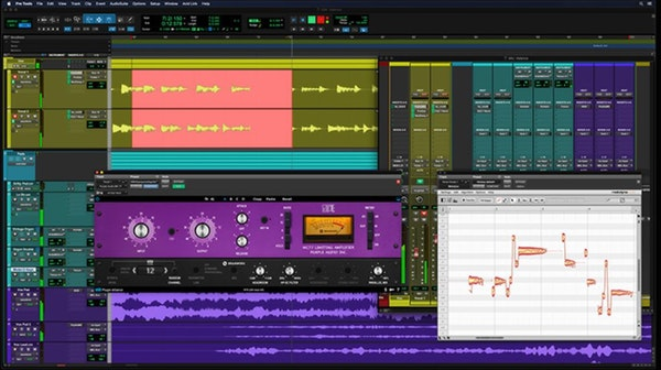 Pro Tools dashboard