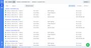 Skedda - Skedda lists screenshot