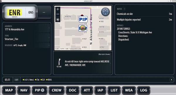 Adashi FirstResponse MDT GIS overlays tracking
