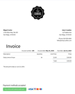 Sunrise invoice screenshot