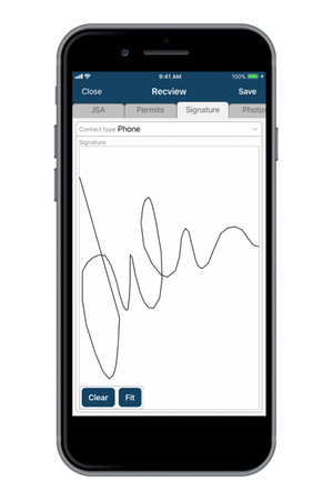 Mobile Reach signature capture