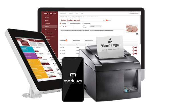 Moduurn mobile ordering system