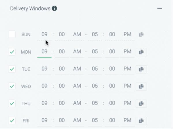 Wavo delivery windows screenshot